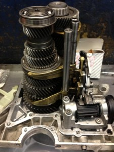 Fiat Ducato Six speed gearbox