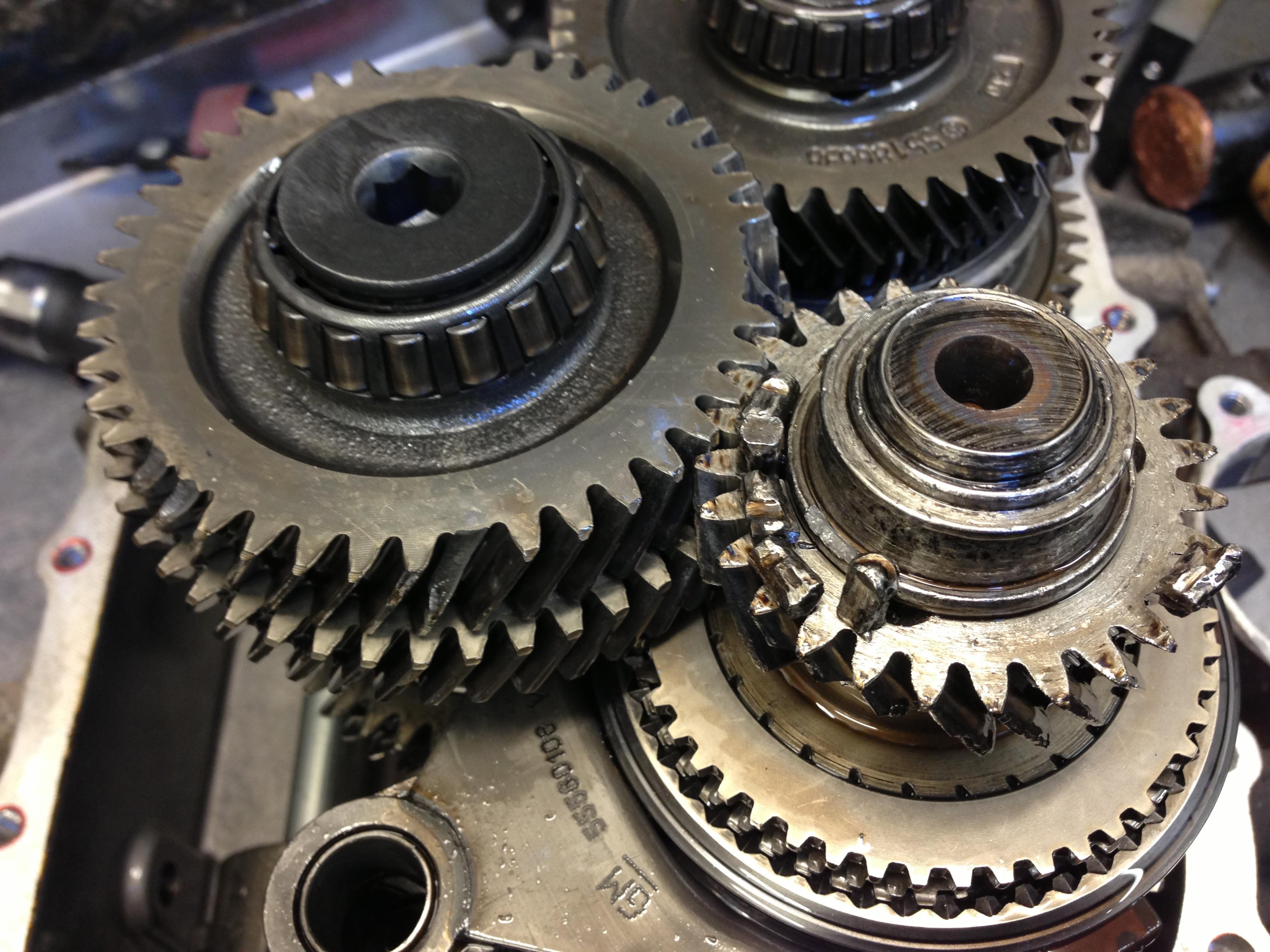 M32 6 Speed vauxhall - Gearbox Problems