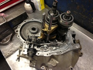 Bipper 5 speed Gearbox