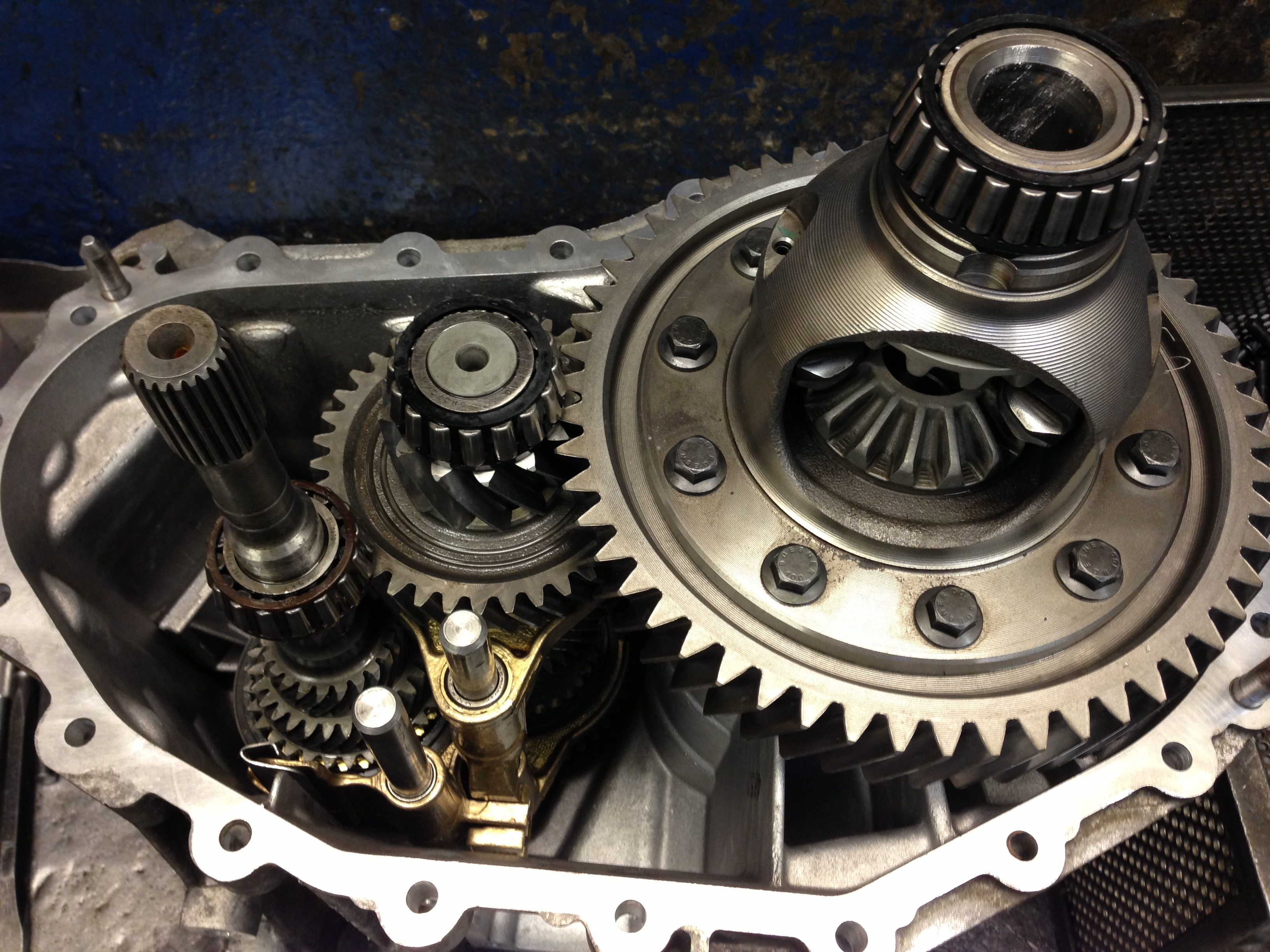 5 Speed Fwd Transit Reconditioned Gearboxes Helical Gearboxes